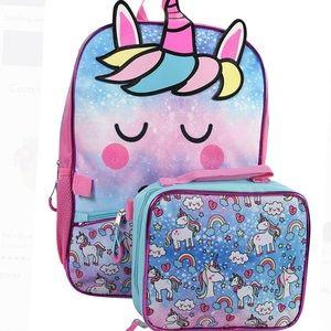 Other - 💥HP💥 🆕  unicorn backpack set gift 🎁  🦄